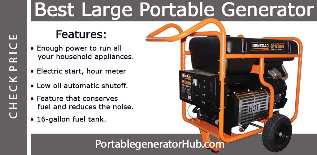 Best portable power generator Review