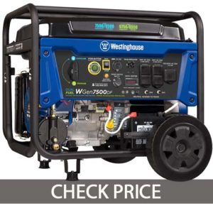 Westinghouse WGen7500 Generator with Remote Electric Start