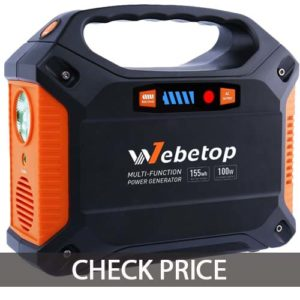 Webetop 155Wh emergency battery generator