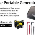 How to Check Portable Generator Output