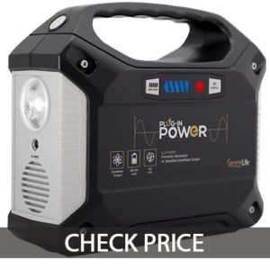 SereneLife Portable Generator, 155Wh