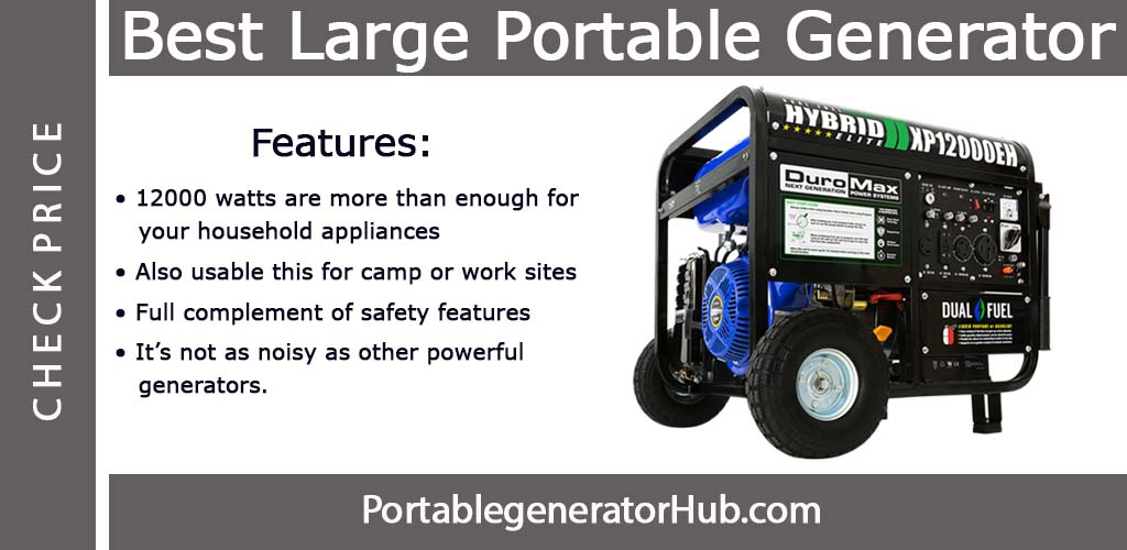 best large portable generator Review