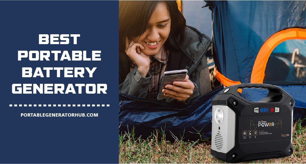Best Portable Battery Generator