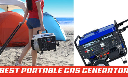 8 Best Portable Gas Generator Reviews | Gas Powered Portable Generator