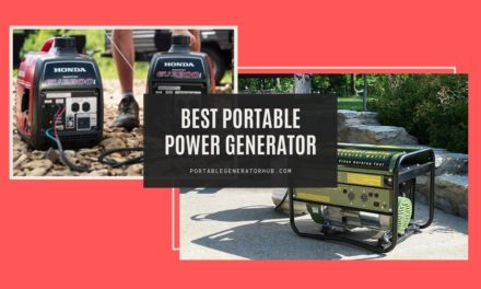 8 Best Portable Power Generator Reviews & Guides 2021