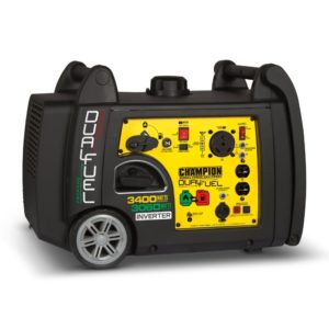 Champion 3400-Watt Dual Fuel Portable Electric Generator