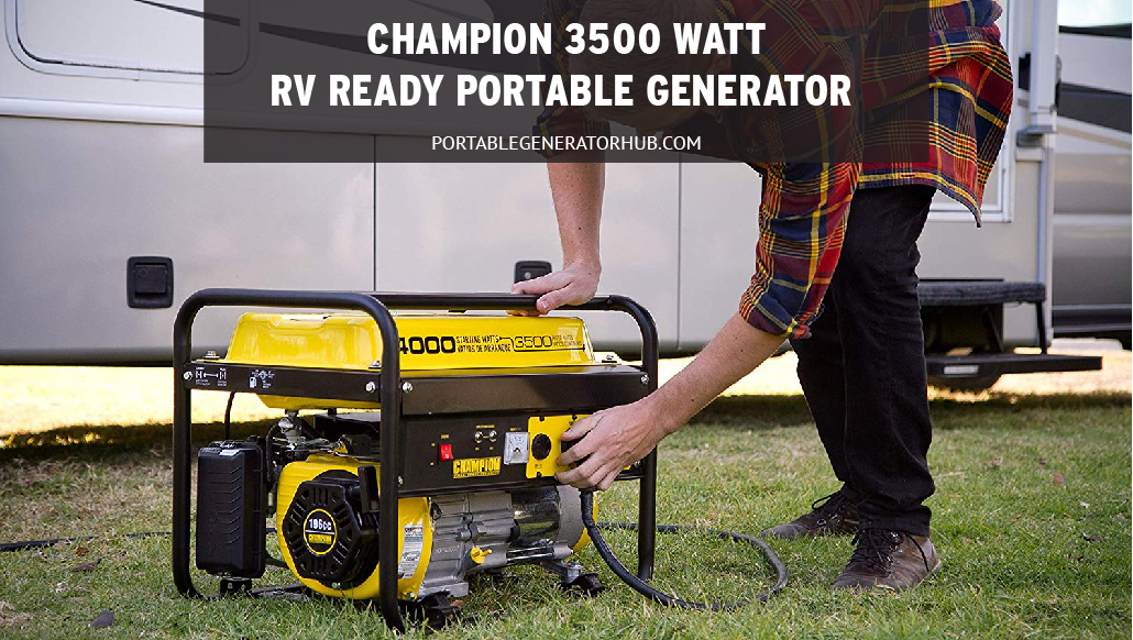 Champion 3500-Watt RV Ready Portable Generator Review | Overnight Use | Handy Power Outlet
