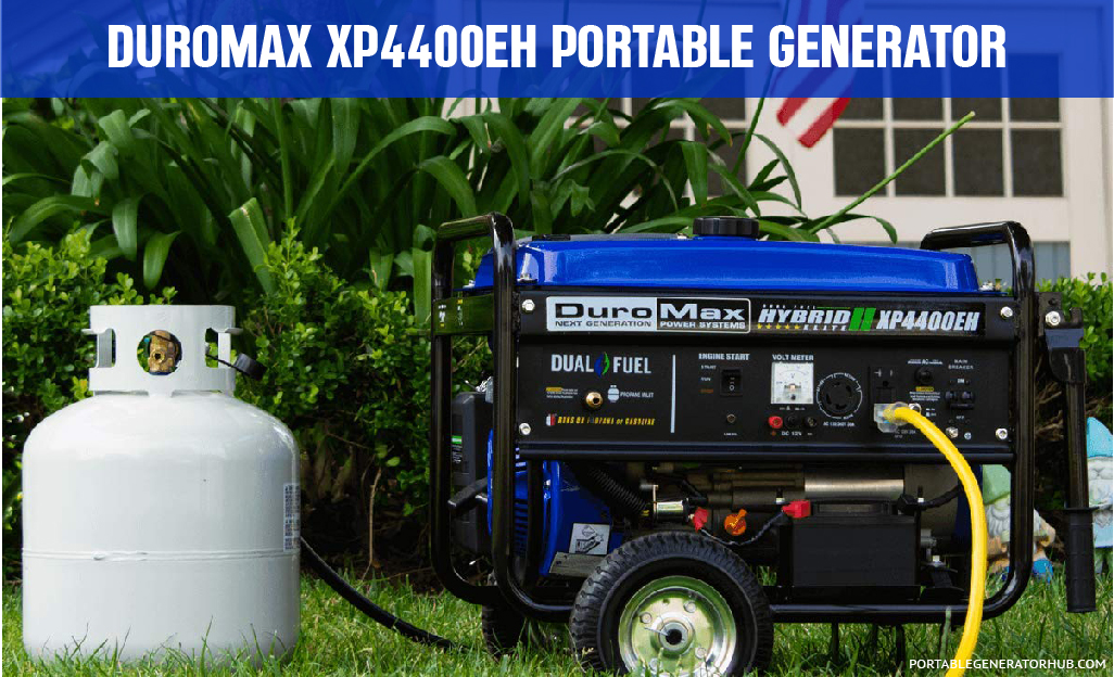 XP4400EH Portable Generator