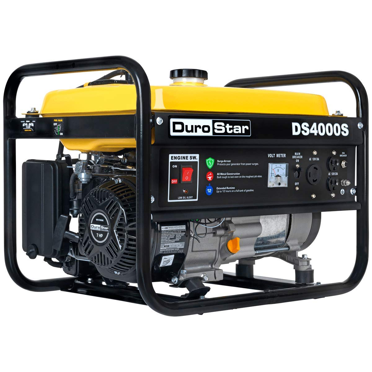 DuroStar DS4000S Gas Powered Portable Generator