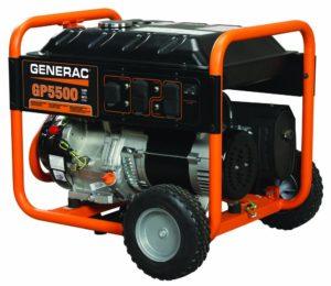 Generac 5939 GP5500 5500 Running Watts