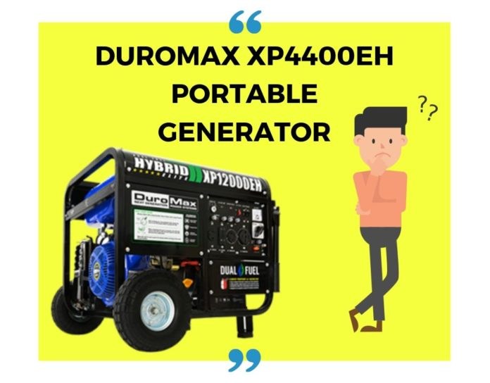 DuroMax XP4400EH Portable Generator