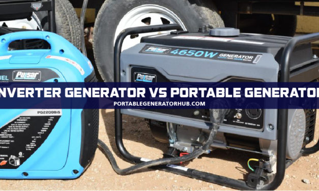 Inverter Generator vs Portable –  Which One Suits Your Needs?