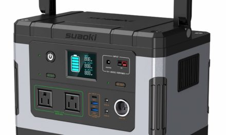 SUAOKI G500 Portable Power Station – Camping & Home Emergency