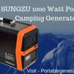 SUNGZU 1000 Watt Portable Camping Generator