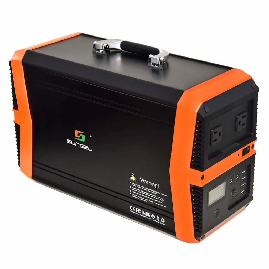 SUNGZU 1010Wh Outdoor Mobile Solar Generator