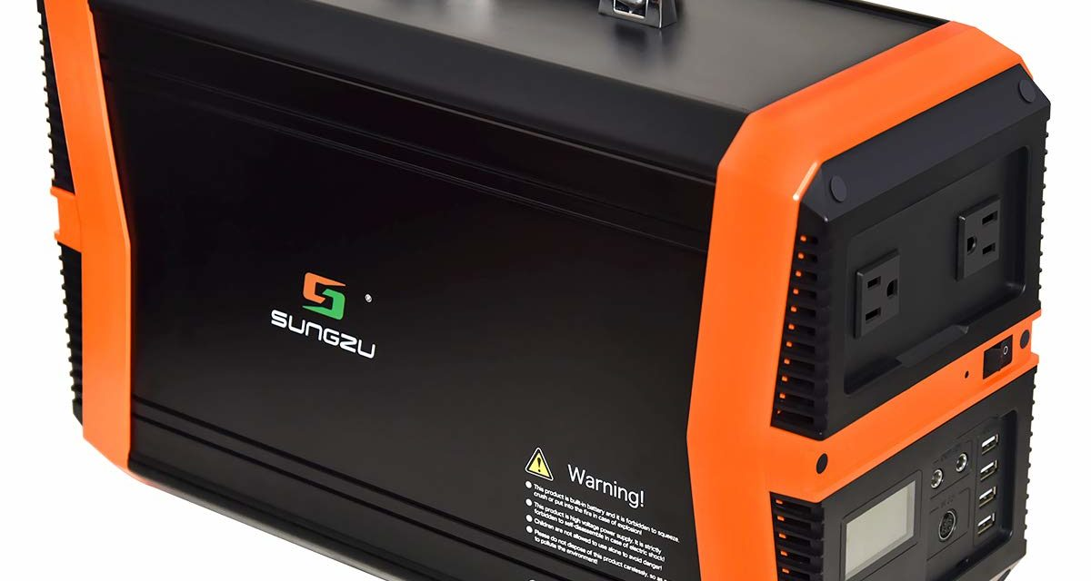 Sungzu 1000 watt portable generator | Multi-Functional Portable Power Station