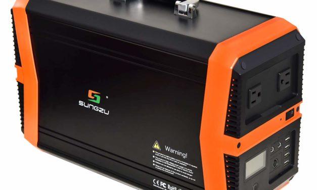 Sungzu 1000 watt portable generator   Multi-Functional Portable Power Station
