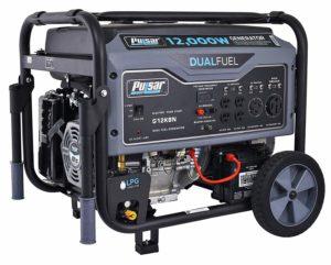 Pulsar 12,000W Dual Fuel Portable Generator