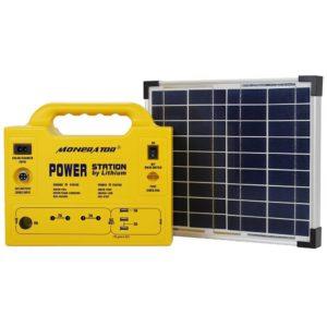 Monerator Portable Solar Generator Power Station