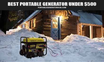 Top 10 Best Portable Generator under $500