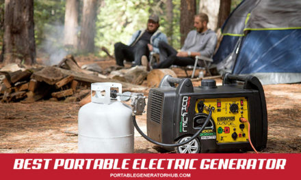 Top 10 Best Portable Electric Generator Reviews in 2021