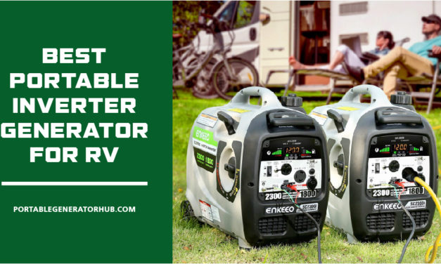 10 Best Portable Inverter Generator for RV 2021 | Reviews & Guides