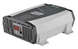 COBRA CPI2590 Gray 2500W Power Inverter for Work Van