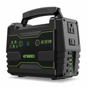 ENKEEO Power Station 155 Wh Portable Generator