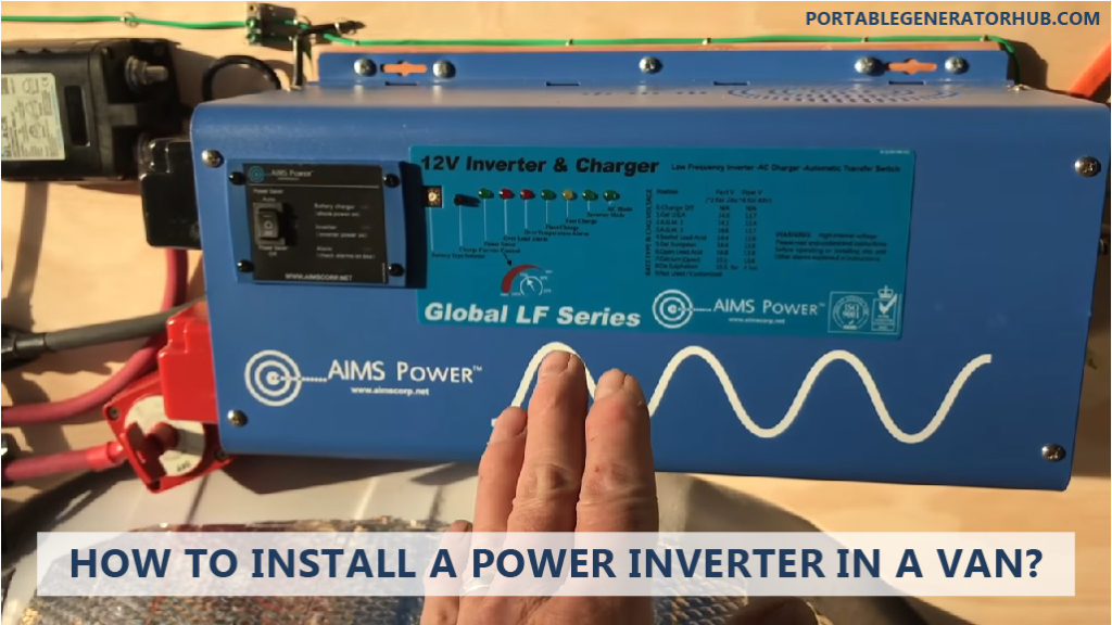 HOW TO INSTALL A POWER INVERTER IN A VAN