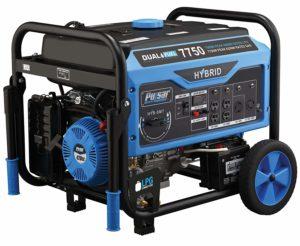 Pulsar 7,750W Dual Fuel Portable Generator, PG7750B