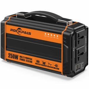 Rockpals 250-Watt Portable Lithium Generator