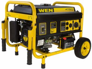 WEN 56475 4750-Watts Portable Electric Generator for Camping