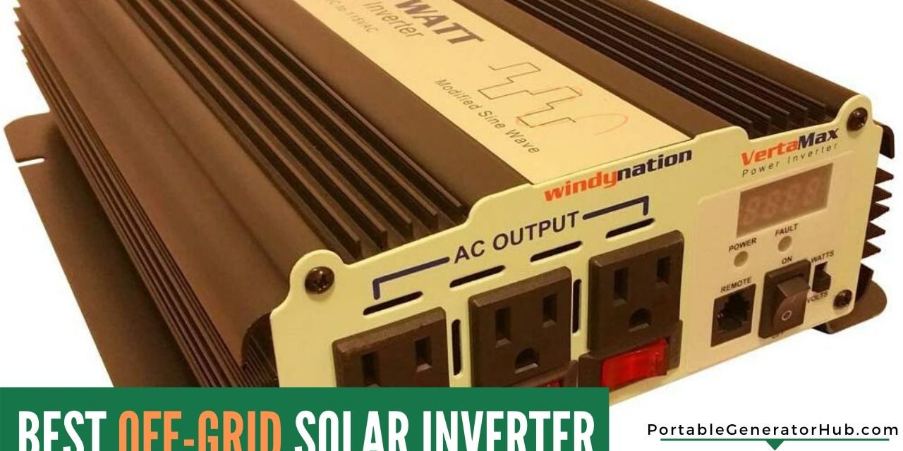 Top 10 Best Off-Grid Solar Inverter Review 2020