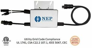 NEP Solar Grid-tie Micro-inverters