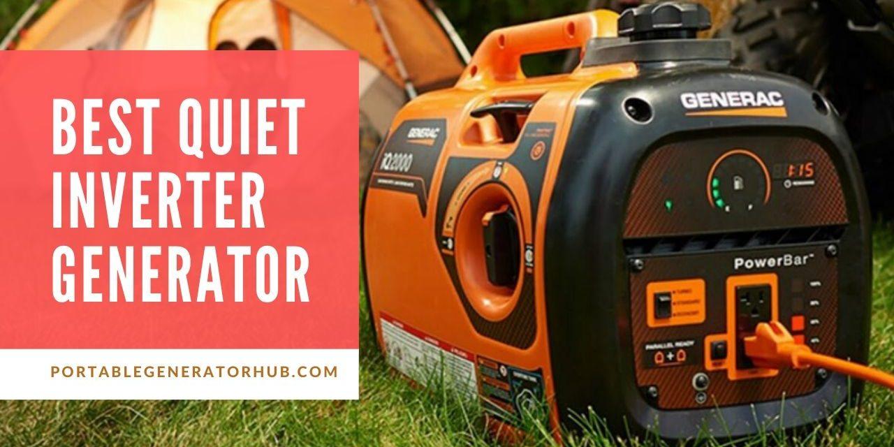 Top 10 Best Quiet Inverter Generator Review 2020
