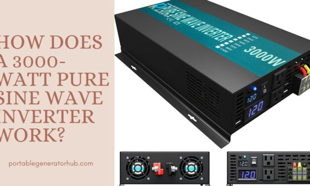 How Does a 3000-Watt Pure Sine Wave Inverter Work?