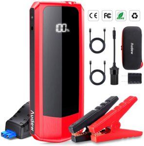 Audew Portable Motorcycle Battery Jump Starter