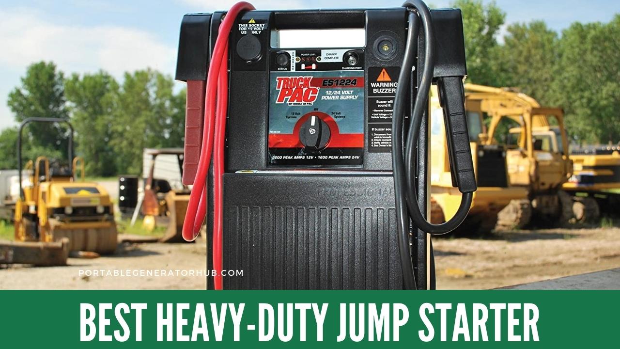 Best Heavy-Duty Jump Starter