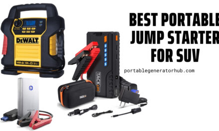 10 Best Portable Jump Starter for SUV 2021 – Our Top Picks