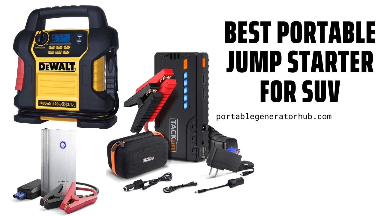 Best Portable Jump Starter for SUV