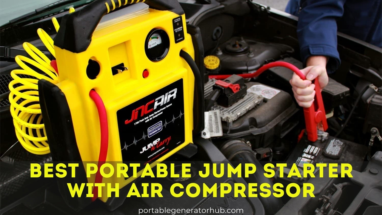 Best Portable Jump Starter with Air Compressor