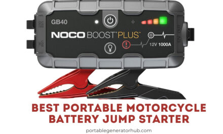 Top 10 Best Portable Motorcycle Battery Jump Starter 2020