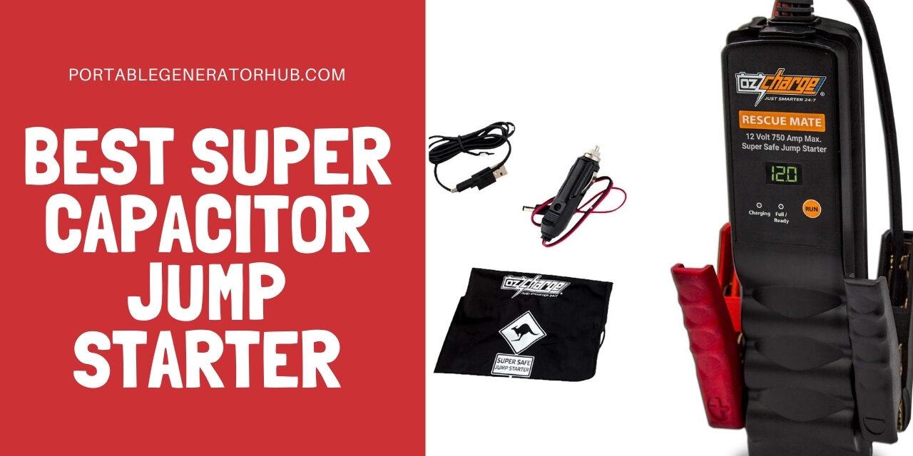 10 Best Super Capacitor Jump Starter 2021 | Browse Top Picks