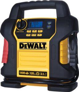 DEWALT DXAEJ14 Digital Portable Jump Starter with Air Compressor