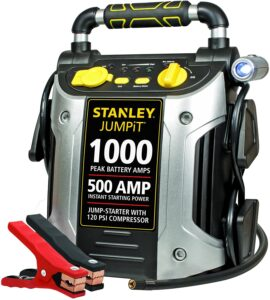 STANLEY J5C09 JUMPiT Portable Jump Starter with Air Compressor