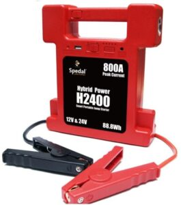 Super Compact Switchable Heavy Duty Battery Jump Starter