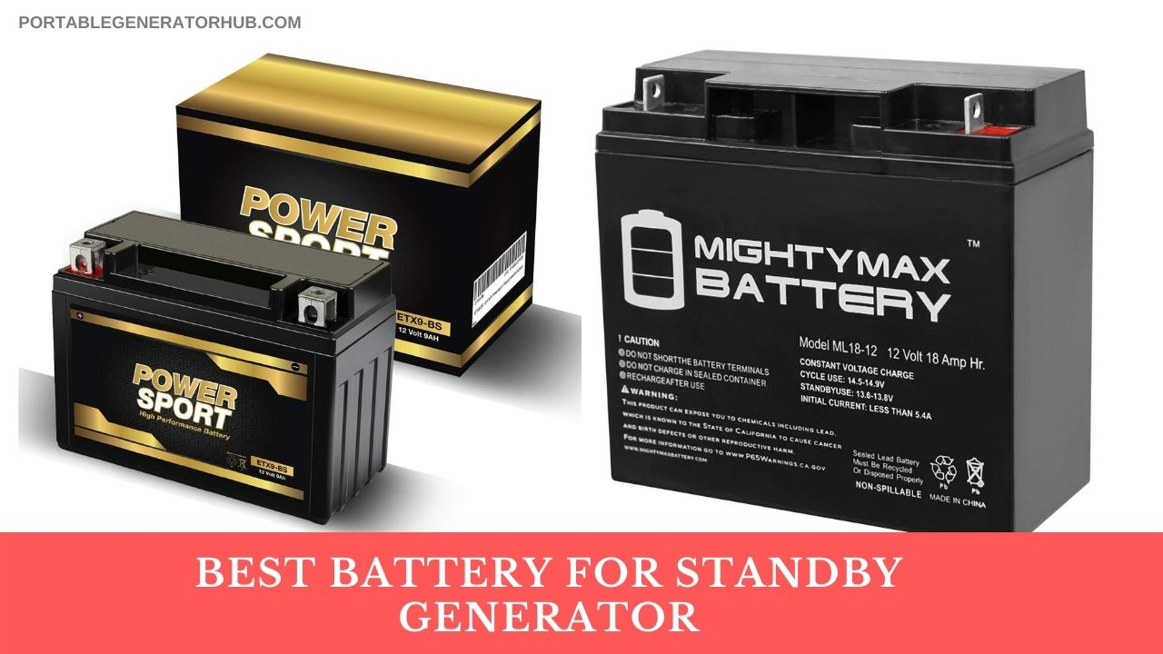 Best Battery for Standby Generator Reviews