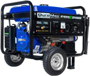 DuroMax XP4400EH Dual Fuel Electric Start Portable Generator