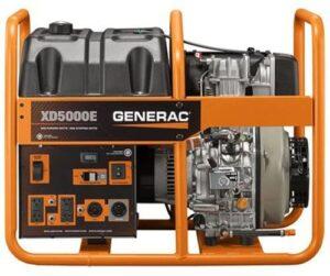 Generac 6864, 5000 Running Watts/5500 diesel home standby generator