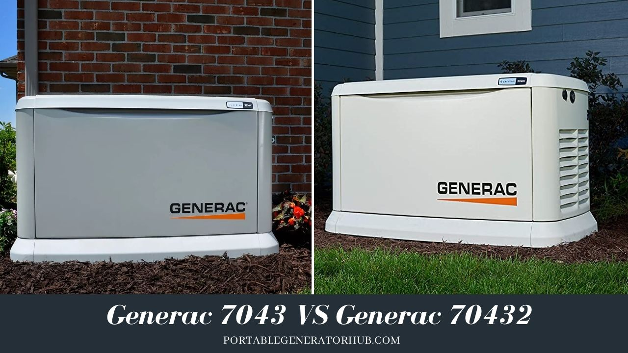 Generac 7043 VS Generac 70432